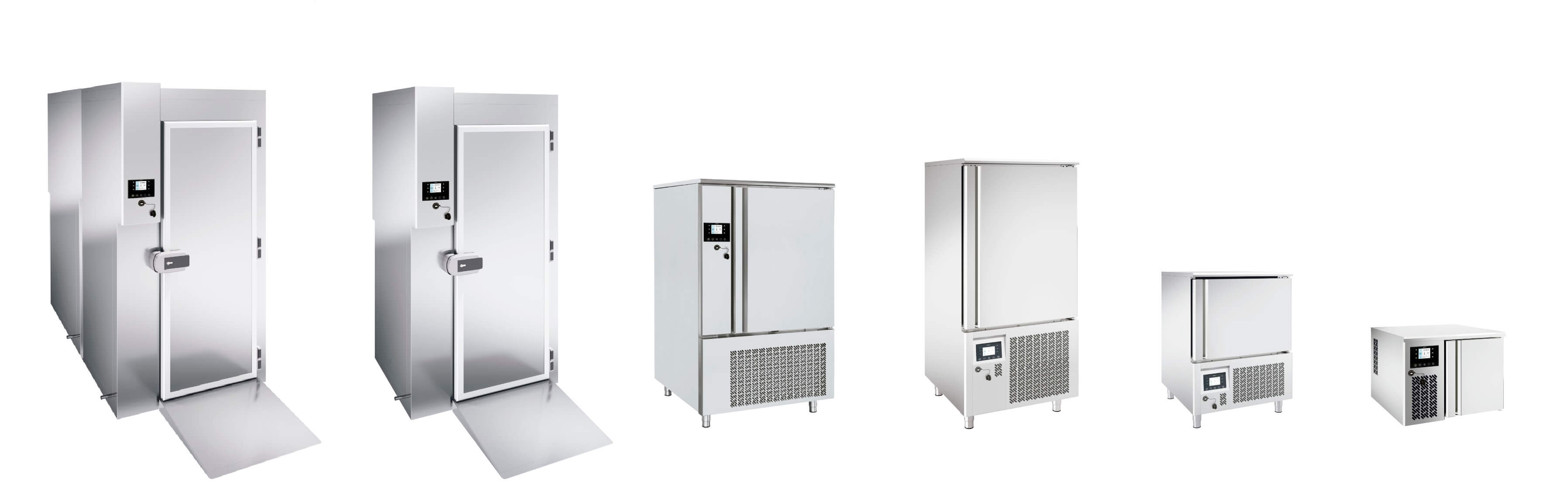 Fast freezing process and equipment Cabinets
