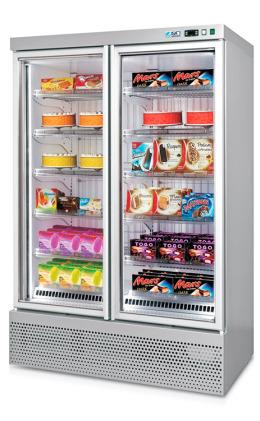 ISA Blizzard 2P RV TB upright freezer